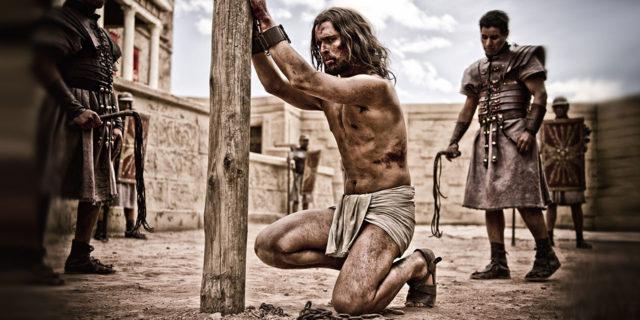 Бичевание Иисуса Христа римскими войнами