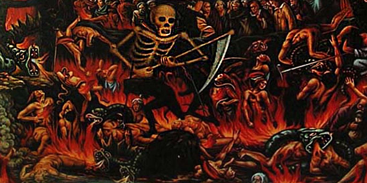 Геенна огненная где плач и скрежет зубов евангелие новый завет библия
