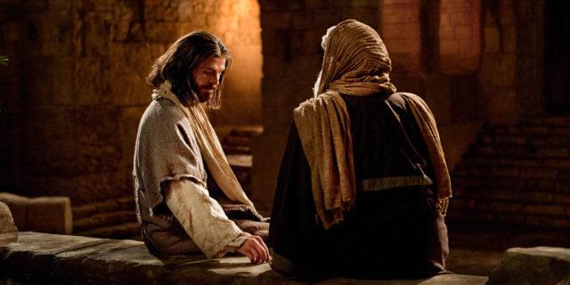Иисус Христос беседует с Никодимом евангелие новый завет библия 2