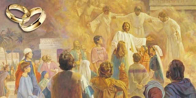 Иисус Христос призывает принять Божье Царство как дитя