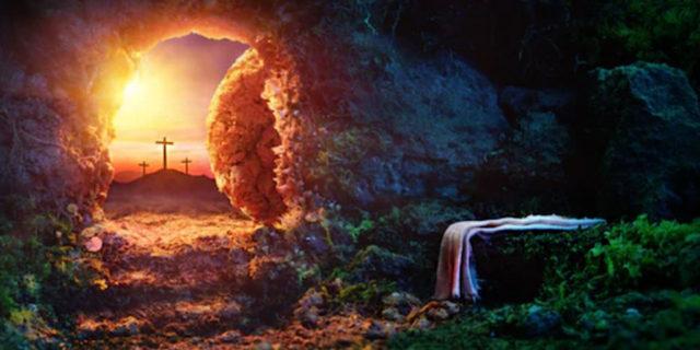 Иисус Христос распятый и воскресший