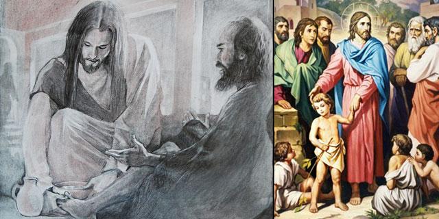 Иисус христос учит быть слугой