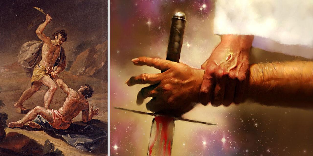 Иисус Христос учит не убивать и не обзываться