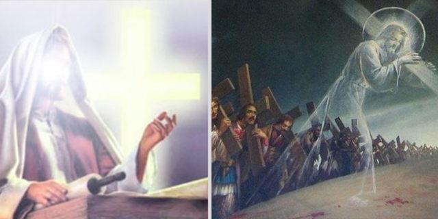 Иисус Христос учит следовать за светом евангелие новый завет библия