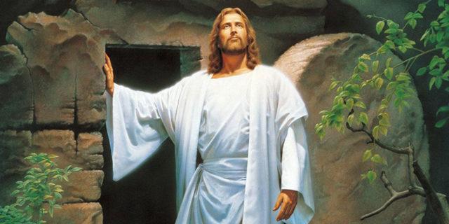 Иисус Христос воскрес из мёртвых смертью смерть поправ