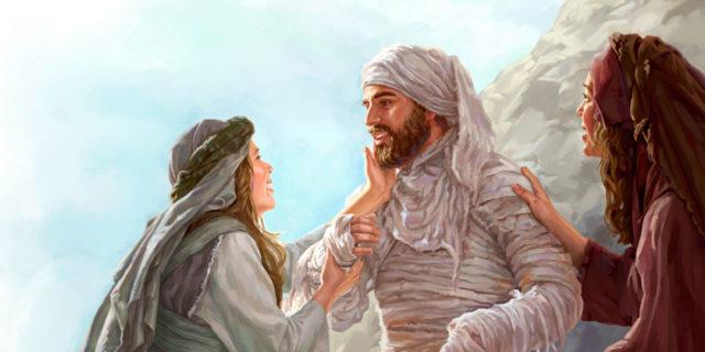 Иисус Христос воскрешает Лазаря евангелие новый завет библия 2