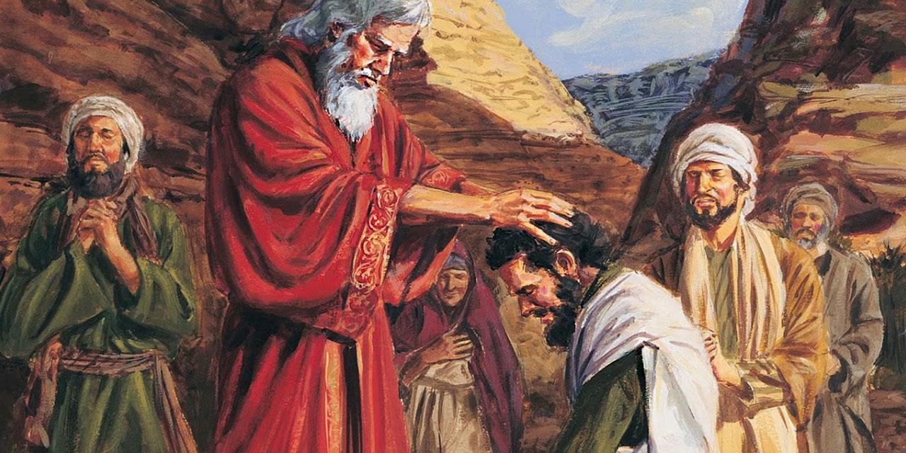 Иисус навин приемник Моисеия ветхий завет Библия