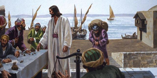 Иисус Христос призывает Левия Алфеева