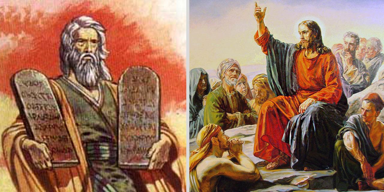Иисус Христос спорит с фарисеями о соблюдении преданий старцев