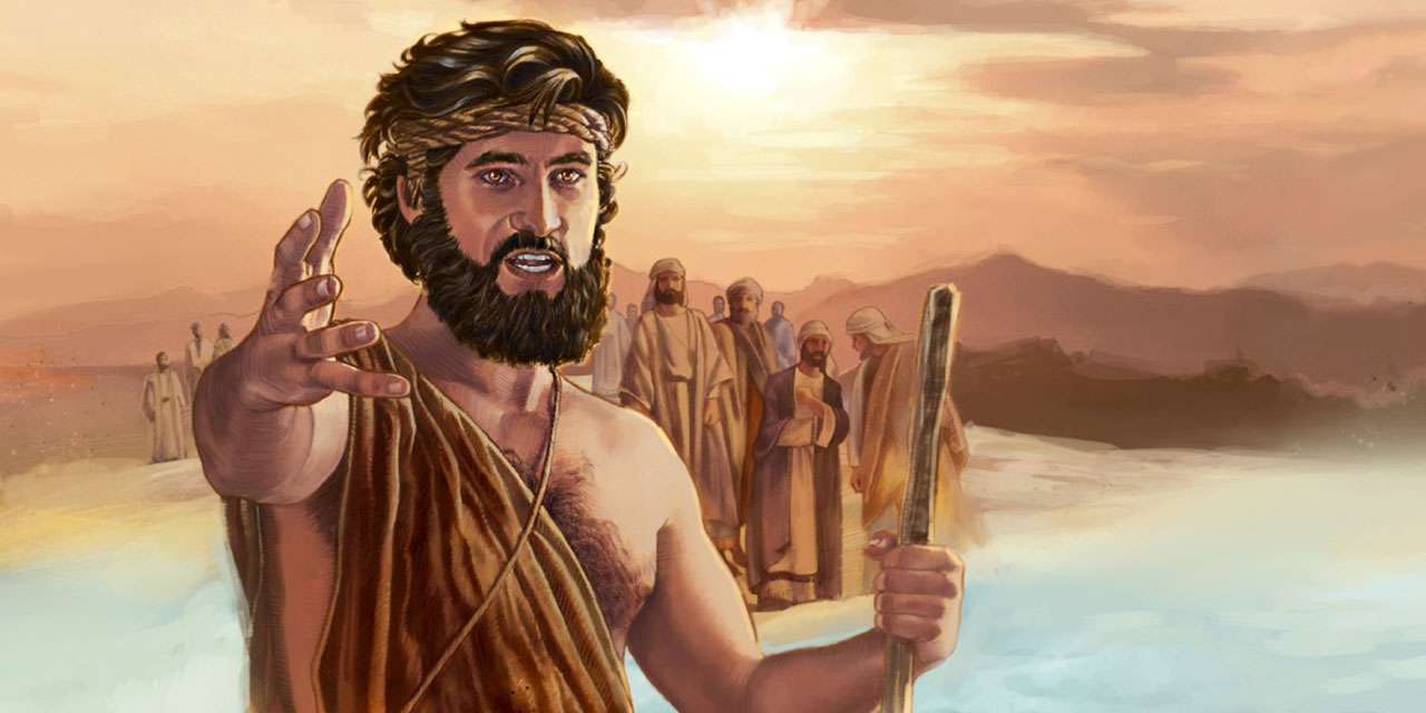 Иоанн креститель призывает к покаянию