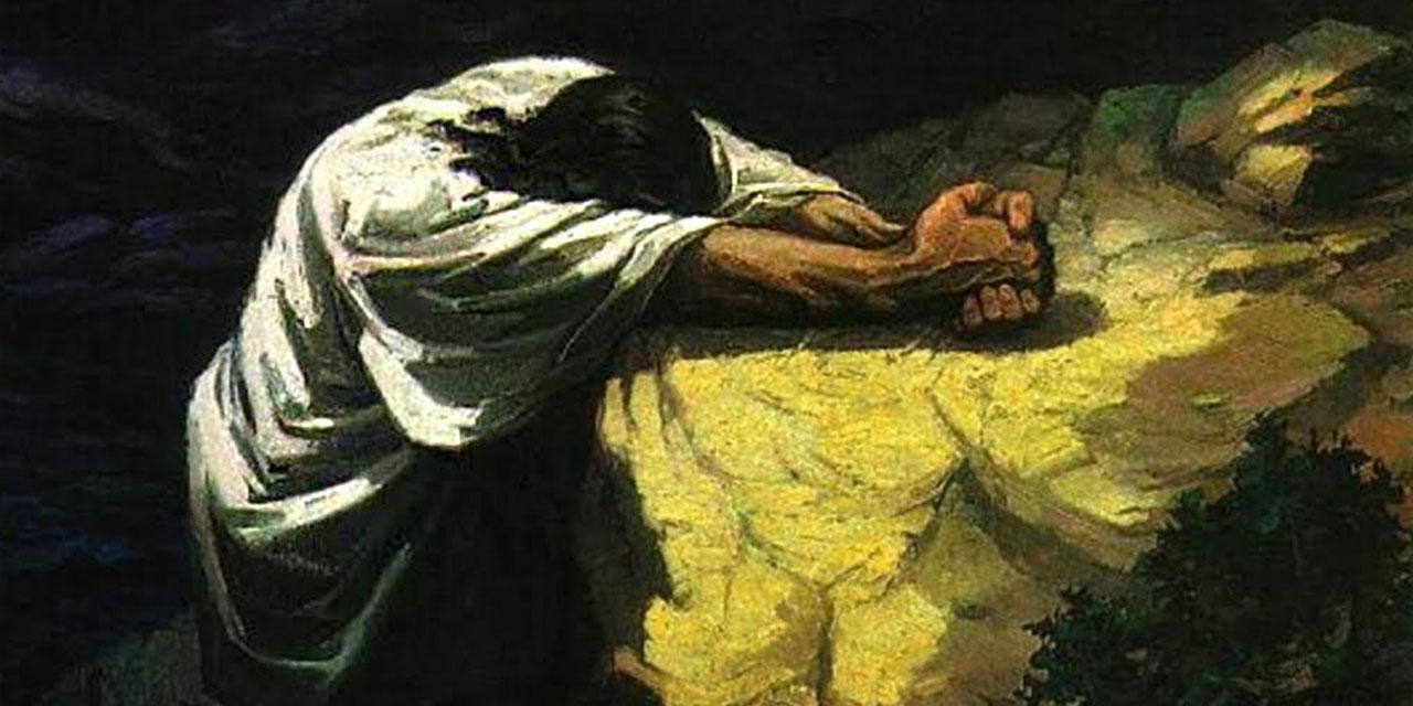 Молитва Иисуса Христа в гефсиманском саду 1