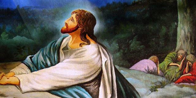 Молитва Иисуса Христа в гефсиманском саду евангелие новый завет библия 2
