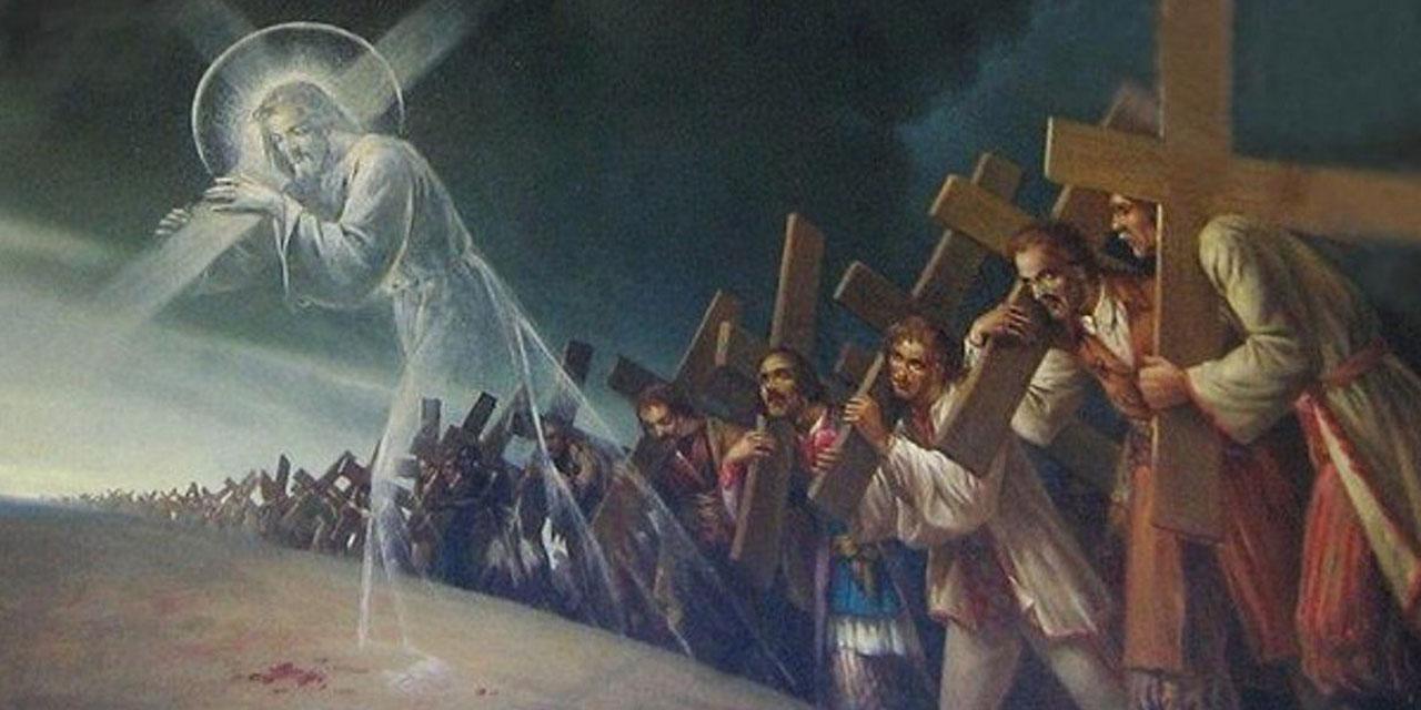 Несение своего креста за Иисусом Христом