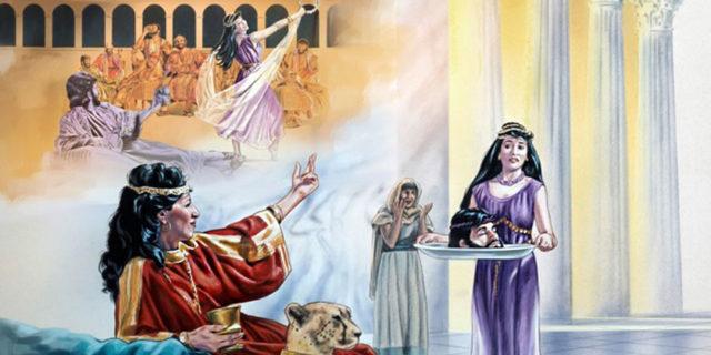 Отсечение головы Иоанну Крестителю