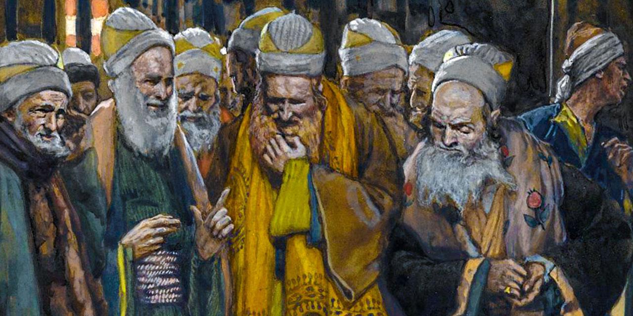 Первосвященники и книжники решают убить Иисуса Христа