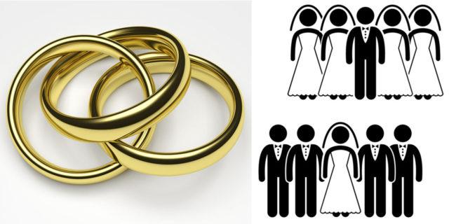 Полигамия или многожёнство и многомужество в христианстве