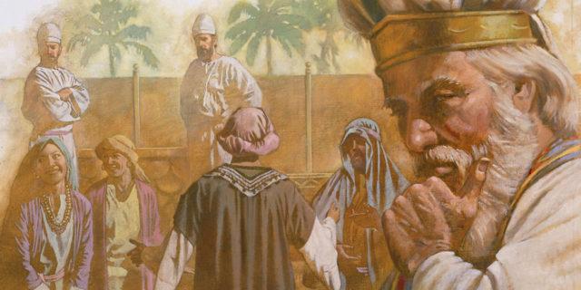 Пророк и судья Илья и его негодные сыновья ветхий завет библия