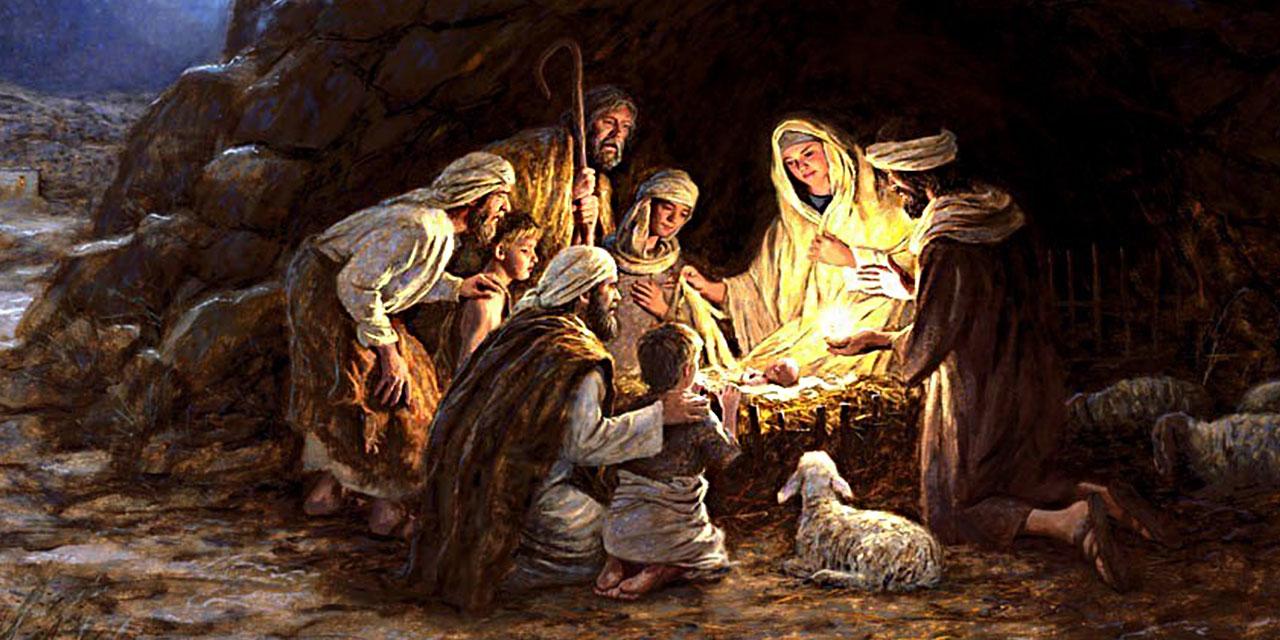 Рождение Иисуса Христа от девы Марии в Вифлееме