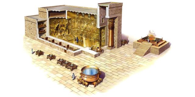 Скиния и Храм Соломона царства ветхий завет Библия