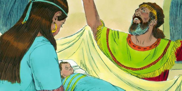 Царь Давид и умерший младенец царства ветхий завет Библия