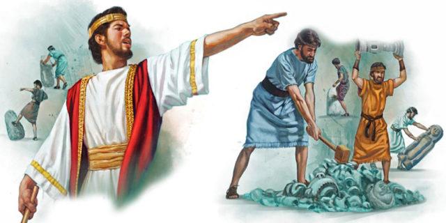 Царь Иосия реформатор разрушает идолы царства ветхий завет Библия