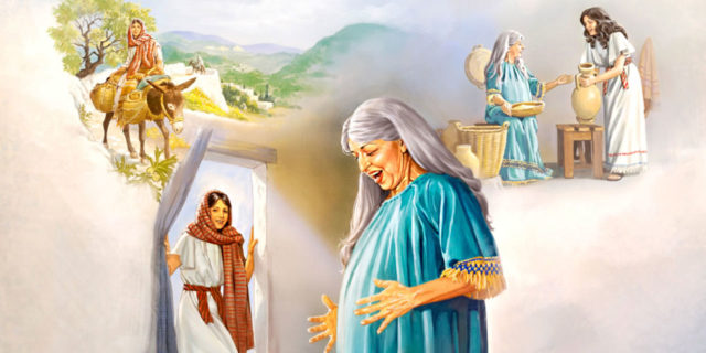 Встреча девы Марии и Елисаветы