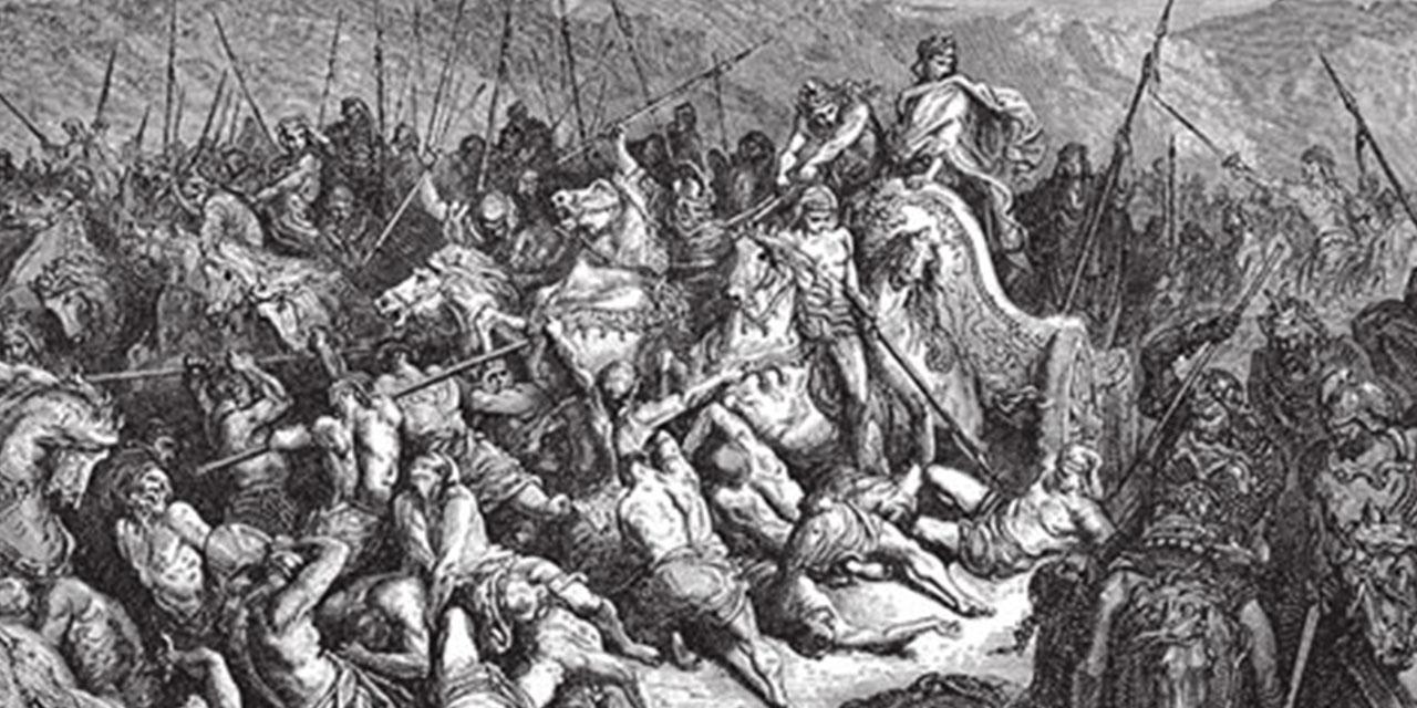 Ахав и Венадад царств ветхий завет библия