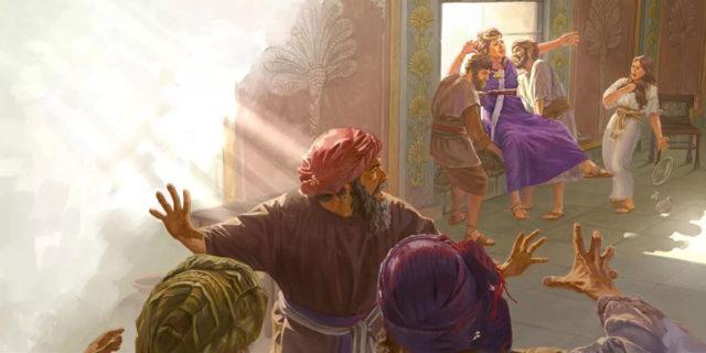 Пророк Елисей и Иезавель выброшенная из окна царств ветхий завет библия
