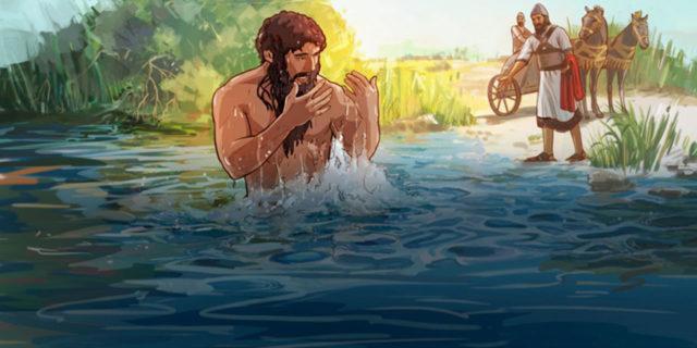 Пророк Елисей и Нееман царств ветхий завет библия