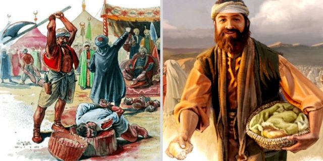 Пророк Елисей и ослеплённое сирийское войско царств ветхий завет библия