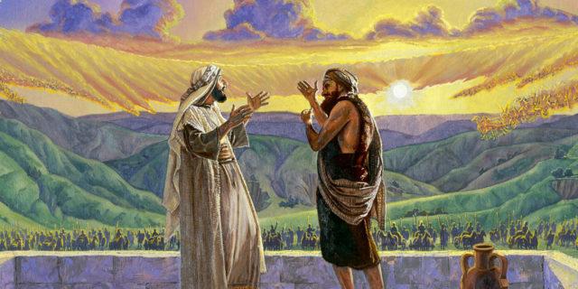 Пророк Елисей и воинство небесное против войска сирийского царств ветхий завет библия 2