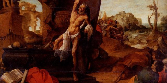 Пророк Елисей и воскрешение мертвеца от его костей царств ветхий завет библия 2