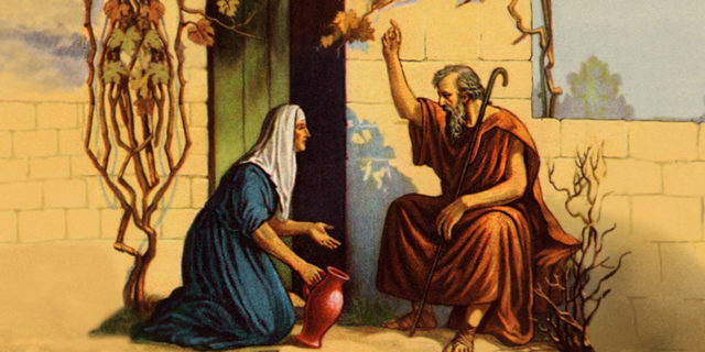 Пророк Илия и вдова царств ветхий завет библия