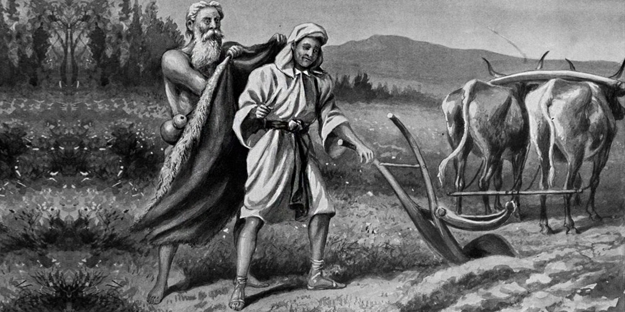 Пророк Илия призывает Елисея идти за собой царств ветхий завет библия