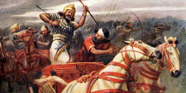 Смерть царя Ахава царств ветхий завет библия