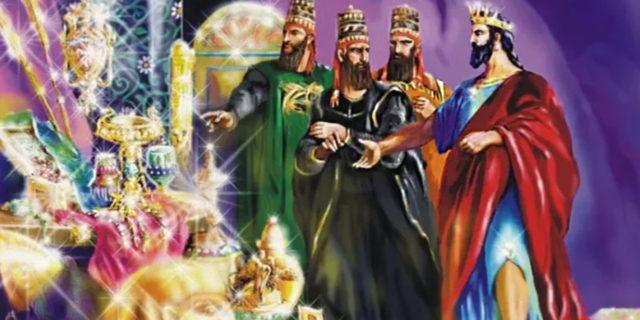 Царь Езекия хвалится сокровищами царства ветхий завет Библия