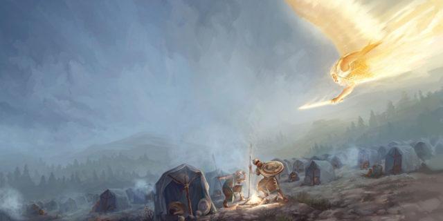 Царь Езекия и ангел смерти поражает стан Ассирийский царства ветхий завет Библия