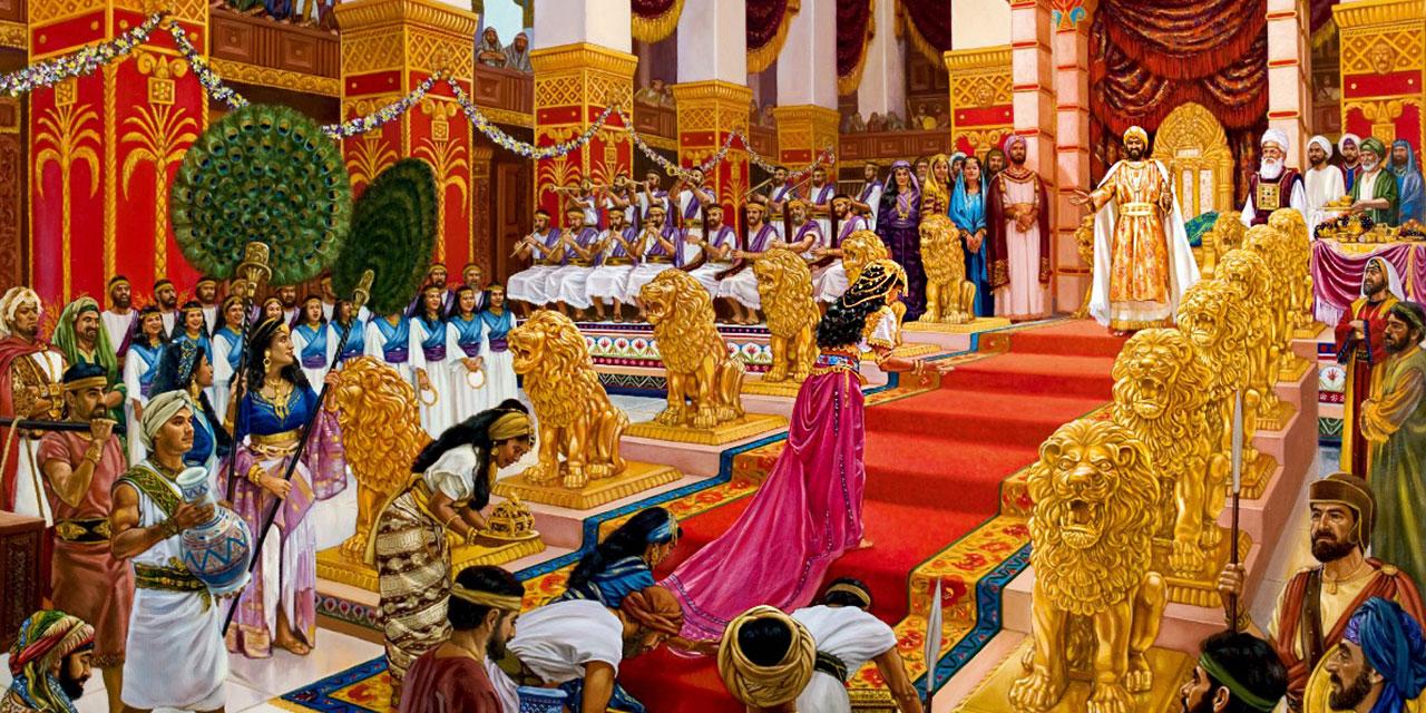 Царь Соломон и царица савская царства ветхий завет Библия 2
