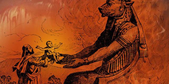 Евреи приносят демонам своих детей в жертву второзаконие ветхий завет библия