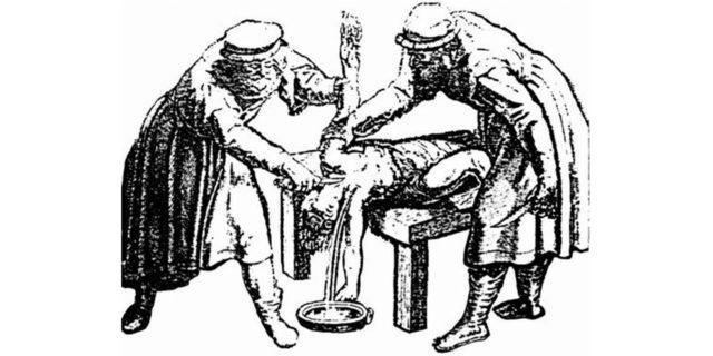 Евреи приносят демонам в жертву пленных людей второзаконие ветхий завет библия