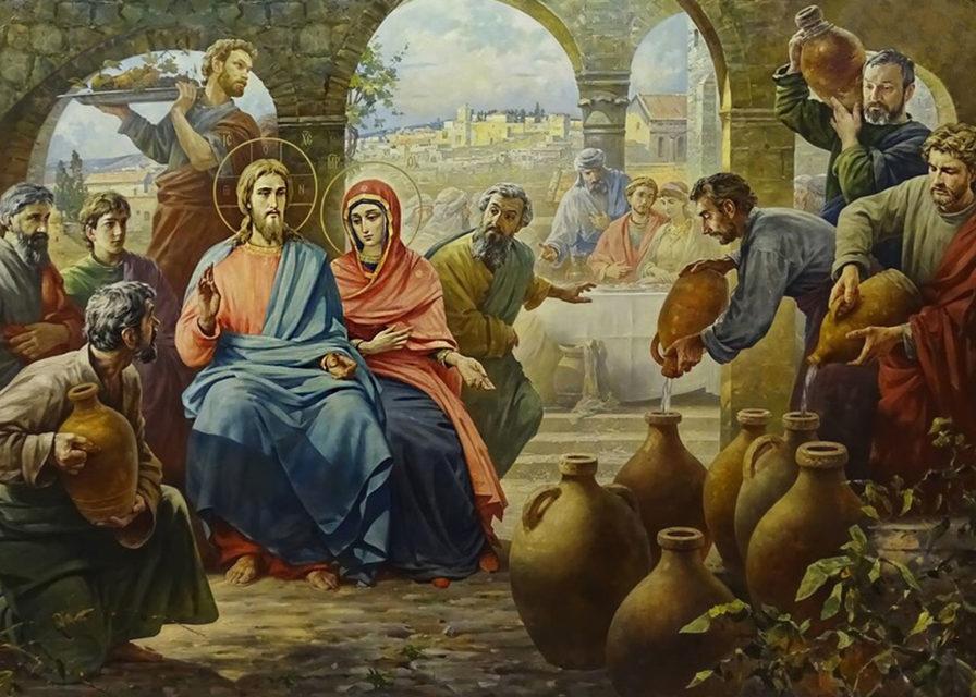 Иисус Христос на брачном пире в Кане Галилейской евангелие новый завет библия