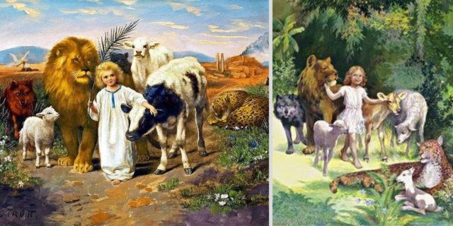 Исаия пророк о рае на земле ветхий завет библия 2