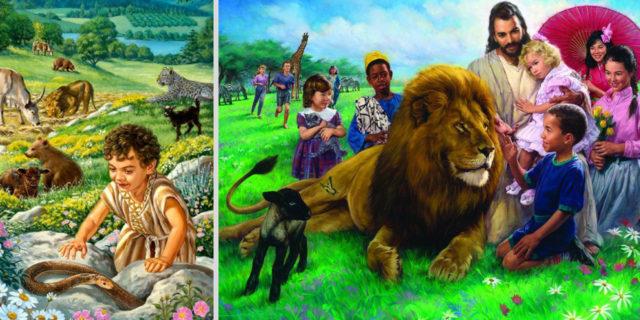 Исаия пророк о рае на земле ветхий завет библия 3