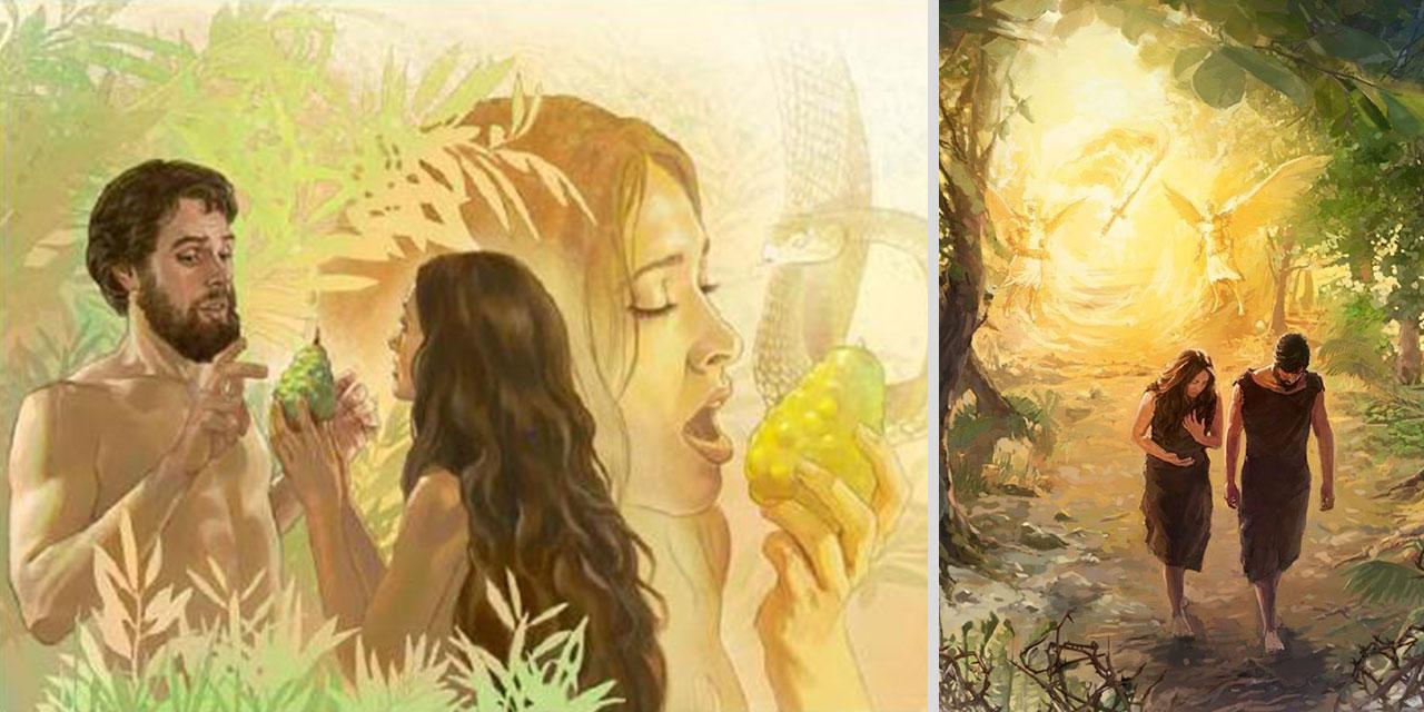 Изгнание Адама и Евы из рая Бытие Ветхий завет Библия