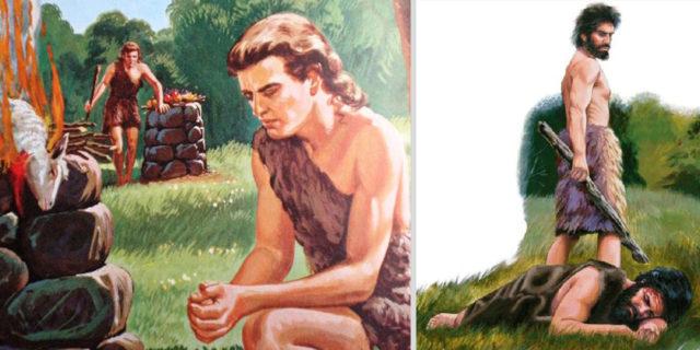 Каин убивает Авеля бытие ветхий завет Библия