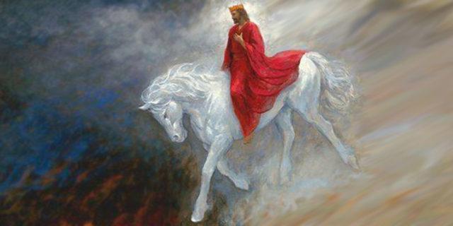 Откровение Иоанна Богослова Второе пришествие Иисуса Христа на коне кротко и смиренно новый завет библия