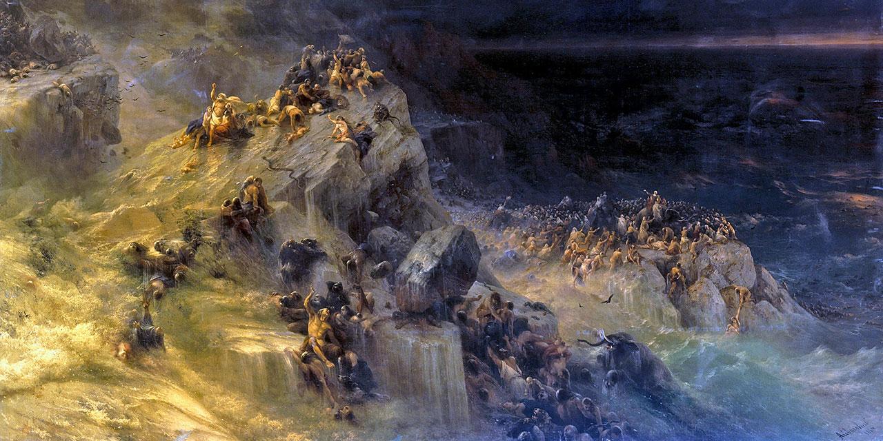 Библия: великий потоп.