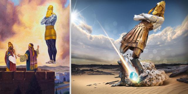 Даниил пророк и истукан 6 ветхий завет библия