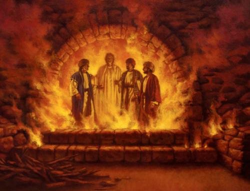 Даниил пророк и статуя царя навуходоносора Седрах, Мисах и Авденаго ветхий завет библия 6