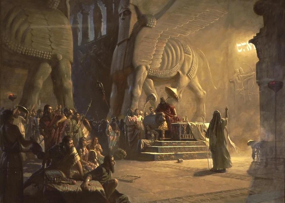 Даниил пророк и царь Валатасар ветхий завет библия 2